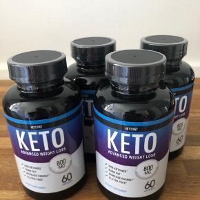 Sælger disse 4 flasker á 60 kapsler Keto Diet. Aldrig åbnet. Fejlkøb.   Tjek mine andre annoncer - sender samme dag ✌🏻🥳
