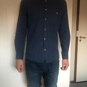 DOPPIA CORSIA skjorte mørke blå, str m