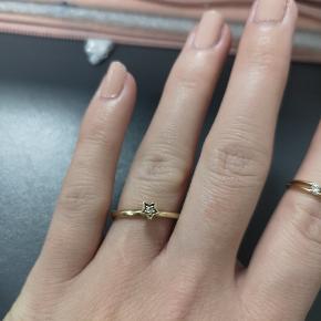 8 karat guld ring Stempel 333. Størrelse 54 🌸  Nypris 1100 Guldring