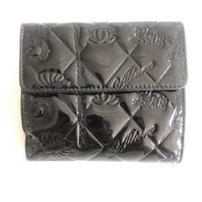 Chanel pung sort lak ( læder)  Med små brugspor Flere billeder kan sendes.