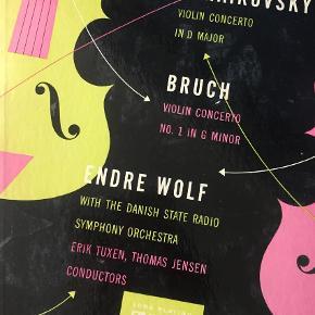 Den vidunderlige violinkoncert Indspillet af Endre Wolf og Danmarks radio . Vidunderlig lyd Lp plade Farve: -