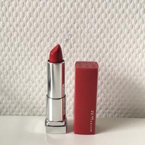 Aldrig brugt.   Maybelline Color Sensational Made For All Lipstick 385 Ruby For Me