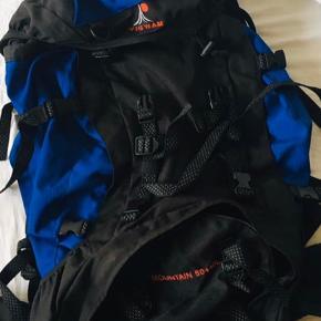 Ny funktionel rygsæk til backpacking. Aldrig brugt. Kom med er bud