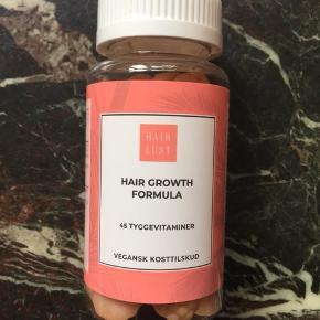 Tyggevitaminer fra Hair Lust.  Sælger en pakke med 45 stk i, som aldrig har været åbnet.