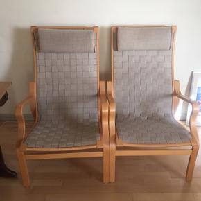 2 gjordeflettede lænestole i næsten ny standKommer fra dyrefrit ikkeryger hjem Stolene kan afhentes i Viby Syd ved Århus