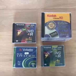 24 stk. helt nye kvalitetsoptage dvd. I indpakning. Kan sendes plus porto.