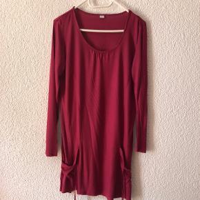Chemise de nuit lie de vin taille M ! Se porte ample et arrive sous les genoux pour taille 171 cm !