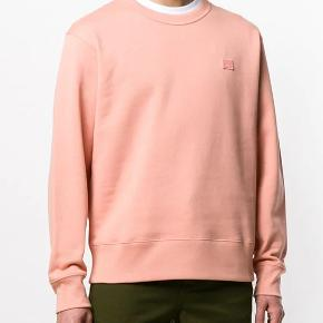 Acne Studios sweatshirt   Pale pink / peach / fersken XL  Fejler intet Befinder sig i Århus  Har kvittering, tags, pose