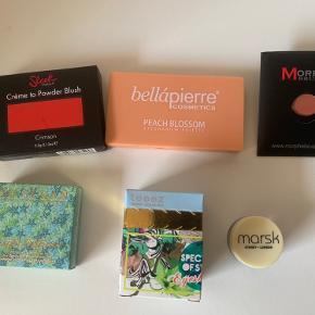 Lækker pakke, alle produkter er HELT NYE📌 6 produkter ialt📌  BELLAPIERRE, Sleek, MORPHE, so Susan, teeez, marsk London.   Prisen er for alle📌  Tjek også mine andre trendsale tilbud 🤩📌