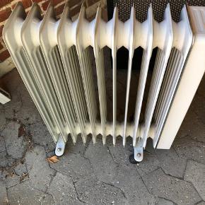 El radiator med hjul