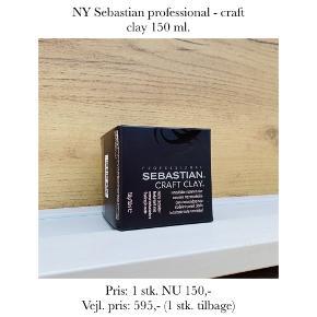 NY Sebastian professional - craft clay 150 ml.   Pris: 1 stk. NU 150,- Vejl. pris: 595,- (1 stk. tilbage)   Se også over 200 andre nye produkter, som jeg har til salg herinde :-)