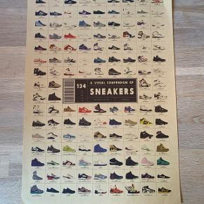 Sneakers plakat Mærke: Ukendt  Str: H51 x B36 Stand: Så god som ny  Nypris: 200dkk Sælges for: 75dkk   Bemærk ramme medfølger ikke