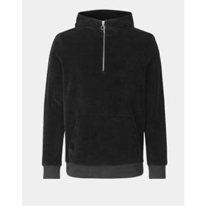Samsøe Samsøe velour hoodie i mørkeblå  størrelse: M   pris: 240 kr   fragt: 37 kr
