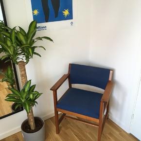 Enormt flot Børge Mogensen BM73 stol. Svær at finde i bedre stand