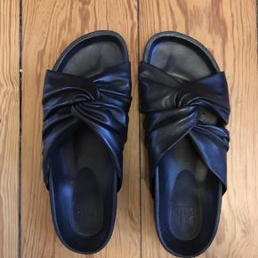 """Sandaler fra Billi Bi """"sandals 8640"""". 100% læder. Nypris 1000kr"""
