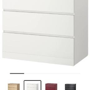 Ikea malm.... med alm brugsridser