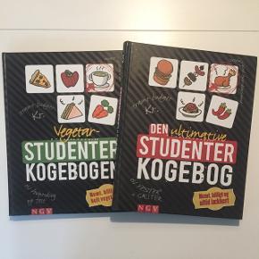 Prisen er for begge bøger.De er aldrig brugt. Afhentes i Aarhus, sendes ikke.
