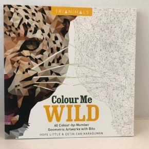 Flot ny malebog, Colour by numbers.    Kan afhentes i Kastrup eller sende på købers regning.