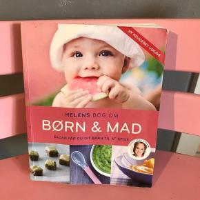 Helens bog om børn og mad. Gratis! Der er mange pletter i bogen. Den er fra 2015