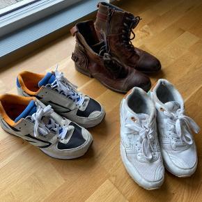 To par sko og et par støvler 49kr pr. par