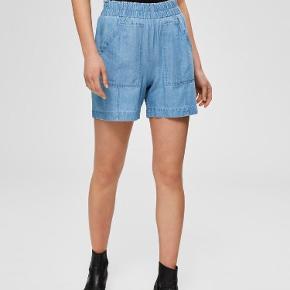 Denimlignende shorts i 100 % bomuld.