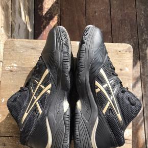 Vintage ASICS gel duomax Sneakers  Sort Str 40,5 (Let brugt, men i rigtig god stand)
