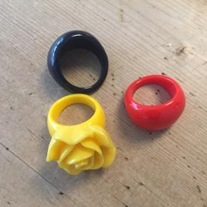 Ringe i plastik   Pris pr styk