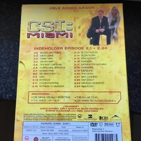 CSI miami DVD.   Kan hentes i Ferslev, 9230 Svenstrup eller 9000 Aalborg - eller sendes på købers regning. :)