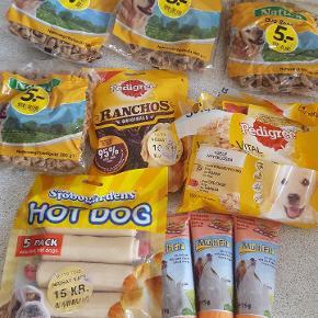 Snacks til hunde . Sælges samlet