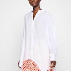 Som nu brugt 1 gang Lækker oversize skjorte Jeg bytter ikke den sælges for en veninde