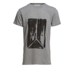 Varetype: T-shirt Farve: Grå Oprindelig købspris: 450 kr.  Won Hundred tee style Henry Logo str. S men fitter str. S/M