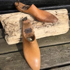 Originale italienske sko læster fra Fratelli Milano. Flotte og dekorative. Pris 300kr
