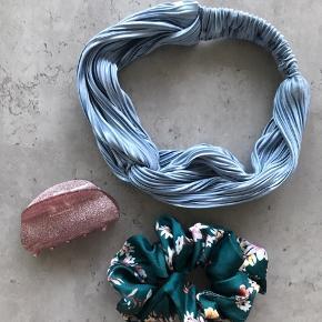 Hårbånd fra Asos, scrunchie fra Glitter og hårklemme fra Søstrene Grene.  Alle sammen brugt meget lidt - ingen brugstegn.  #tuesdaysellout
