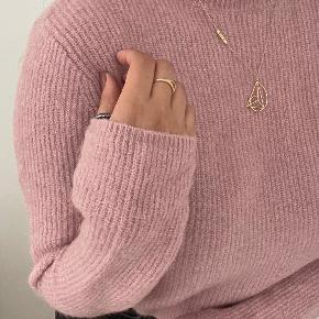 Mint & berry sweater