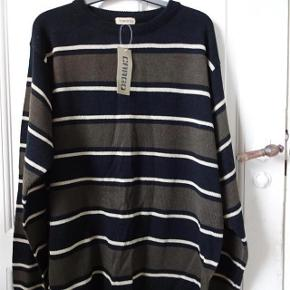 16b78147 CARGO Varetype: Pullover *NY* Størrelse: XXL Farve: Sort/brun/