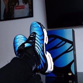 Nike Air Max Plus TN  BLUE TIGER 🌀   Gået med indendørs 1 gang!  Aldrig brugt ude. Ingen fejl ved skoene. Derfor så gode, som nye 🦋🦋