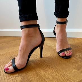 Hælen er 10 cm - de er aldrig brugt.  #Ghølersellout