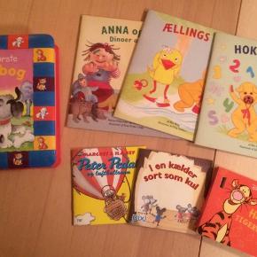 Diverse børnebøger og opgavehæfter, 10kr stk
