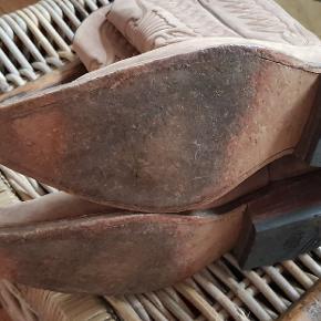 Western læder støvler. Købt på ferie, kun brugt ganske lidt.