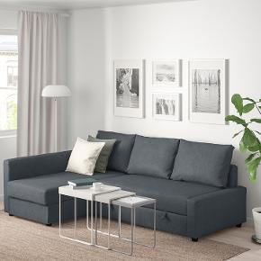God stand sofa. Sælges pga flytning. God sovesofa og med opbevaringsplads. Jeg har været rigtig glad for den. Har få mærker, men intet tydeligt. Model: Ikea Friheten