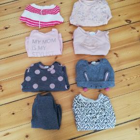 8 tykke, langærmede trøjer fra blandede mærker. Tag alle for 50,- - De indgår også i samlet tøjpakke som findes på profilen!