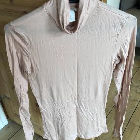H&m beige halskræve trøje/bluse