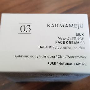 Ny og ubrugt ansigtscreme.
