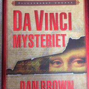 Da Vinci mysteriet - illustreret udgave - ny og ulæst - nypris kr. 349