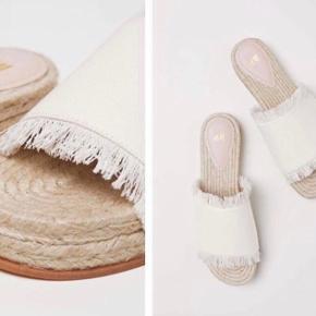 Fine sandaler fra h&m i str. 37. Aldrig brugt - sælges også i sort 🌸