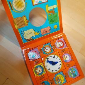 Børnebog om at lære klokken