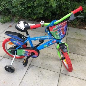 """14"""" cykel med pyjamasheltene"""