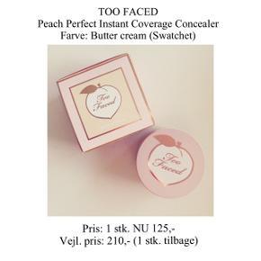 Brand: Too Faced Varetype: concealer  Farve: Butter cream  Kun swatchet - stadig i æske ☀️