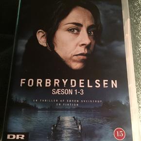 Forbrydelsen sæson 1-3 17 disc-Den komplette serie. En triller af Søren sveistrup Med Sofie gråbøl