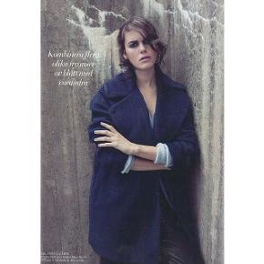 Smuk lun frakke. Str. m, vil sidde pænest på en 36 eller 38, højst 1,70. Pæn stand. Pris 650 inkl.
